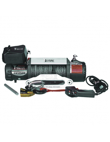 WINCH T-MAX X-POWER 12500LBS SYNTHETIC