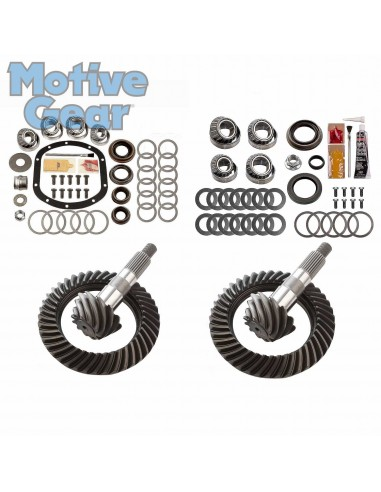 SET RING AND PINION 4.10 JEEP JK D30...